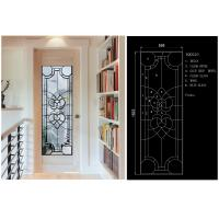 Buy cheap Solid Flat Tempered Decorative Glass Windows Private Imports Series Finely Detailed product