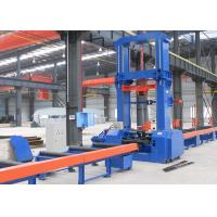 Buy cheap Hydraulic H Beam Production Line Automatic Centering 2500mm Web Height 9.5 KW Input product