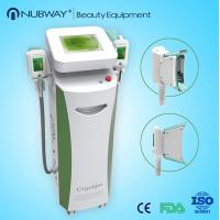 Quality Frozen fat cryolipolysis cool shaping machine / cryotherapy for fat removal for sale