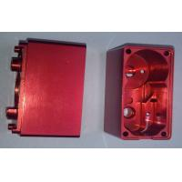 Buy cheap Red Anodized Custom Precision CNC Machining Services Aluminum Electronic Enclosures product