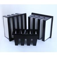 Buy cheap MERV16 V Bank Cell Filter With ABS Plastic  Frame product