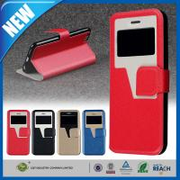 China Premium Smart View Apple iPhone 6 Plus Case Leather Wallet 5.5 inch on sale