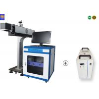 Quality Carbon Dioxide CO2 Laser Marking Machine , 60W Laser Marking Engraving For Leather Cloths for sale