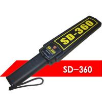Buy cheap Model SD-360 Highest Sensitivity Portable Hand Held Metal Detector With Low Consumption product