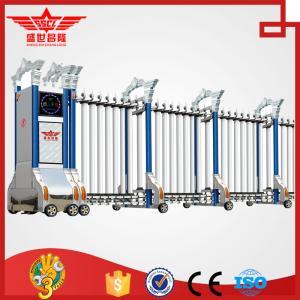 Buy cheap 贅沢なアルミニウム電気抵抗の風のゲート自動滑走企業の本管はL1515をゲートで制御します product