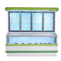 Buy cheap Vertical Combination Freezer And Refrigerator  With 1.8 M 2.5m High Efficient product