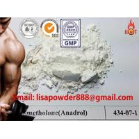 Buy cheap Synthetic Anadrol Anabolic Androgenic Steroids 434-07-1 Methandienone Hormones Powder product