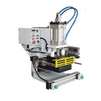 China semi-automatic Pneumatic hot stamping machine for paper bag on sale
