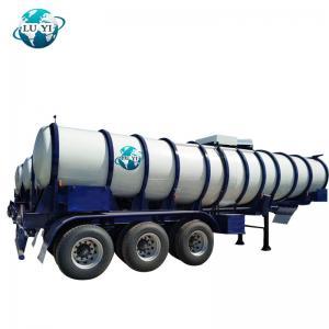 Buy cheap High quality 3 axle aluminum   Fuel petroleum gasoline transfer Tanker Semi Trailer for sale product