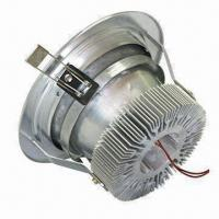 Buy cheap LED Downlight with 100 to 240V AC to 50/60Hz Input Voltage and 10W Power Consumption product