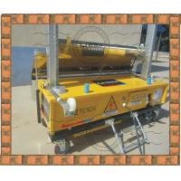 China Exterior Concrete Wall Coating Plaster Machine 4mm - 30mm Thick on sale
