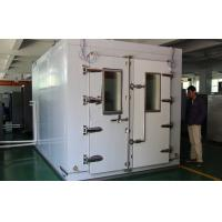 China Automatic Walk In  Climatic Test Chambers Air Cooled Type Condenser Touch Screen wholesale