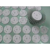 Buy cheap High Power LED Lights Thermal Gap Fillers , Glass Fiber Backing Conductive Silicone Rubber product
