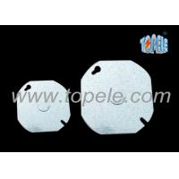 Buy cheap EMT Conduit Box Covers Industrial Blank Up Plate Thickness 1.2mm / 1.5mm / 1.6mm product