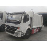 Buy cheap 2017s new best price Dongfeng 4*2 compression garbage truck, factory sale dongfeng 6cbm compactor garbage truck product