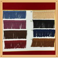 Buy cheap 2017 Factory Direct Hot Sales New Style Brown Color Cotton Bullion Tassel trims fringe For Curtain product