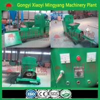 Quality CE approved No binder biomass wood sawdust rice husk briquette making machine for sale