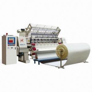 Buy cheap Máquina que acolcha automatizada de la Multi-aguja de la puntada de la cerradura con el sistema del CNC, usado para la ropa y los guantes product