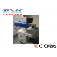 China Compact Cable Laser Marking Machine , Leather / Fabric Laser Marking Machine 1064nm on sale