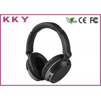 Quality 4.0 Bluetooth Headset Black Color , Portable Bluetooth Headset Noise Cancelling for sale