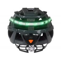 Buy cheap Cool Bicycle Helmet With Built In Lights , Open Mould Light Up Safety Helmet product
