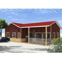 China Transportable Residential 2 Bedroom Modular Homes Prefab With ​Sandwich Panel on sale