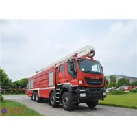 Buy cheap IVECO Chassis Water Tower Fire Truck High Spraying 500mm Fording Depth product