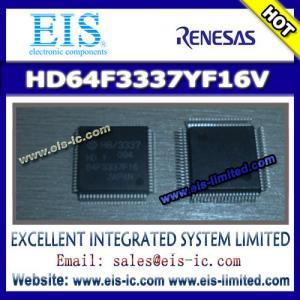 Buy cheap HD64F3337YF16V - RENESAS - Hitachi Single Chip Microcomputer - Email: sales009@eis-ic.com product