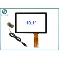 Buy cheap PCAP 10.1 Capacitive Touch Panel / Capacitive Touch Screen For Industrial Displays from wholesalers