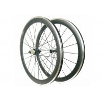 Buy cheap Carbon Alloy Clincher Wheelset , R36 Hub Carbon Wheels With Alloy Braking Surface product