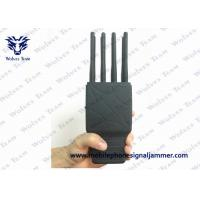 Buy cheap 8 Bands Handheld Signal Jammer WIFI LOJACK GPS Jamming Device With Nylon Case product