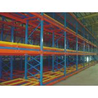 Buy cheap Warehouse Push Back Pallet Racking Industrial Storage Racking Systems from wholesalers