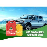 Buy cheap Red Color Plastic Fuel Tanks For Cars , Anti Rust 3 Gallon Portable Fuel Tank product