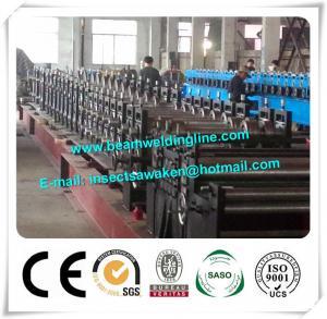 Rollo de acero Silo de acero del enlace que forma las bandejas de cable galvanizadas máquina