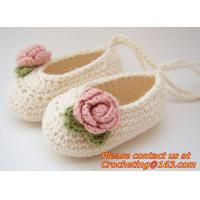China baby moccasins Newborn baby girl shoes crochet baby shoes infant sandals crochet kids slip on sale