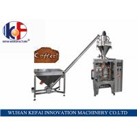 Buy cheap KF02-PD V420 China factory sale coffee powder packing machine with auger filler from wholesalers