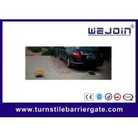 Buy cheap Manual Parking Lot Equipment Remote Parking Lock , Water Resistant Car Park Barrier product
