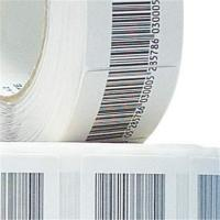 China Custom 8.2Mhz Paper 4*4 Seal Sticker EAS RF Label Anti Theft For Retail Store on sale