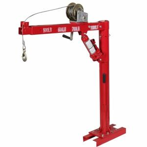 Buy cheap Red 360 Rotating 1000Lbs Engine Hoist And Stand product