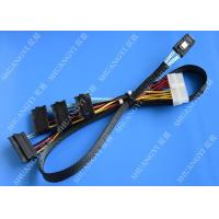 Buy cheap Serial Attached SCSI SAS SFF 8087 TO SFF 8482 Cable 28AWG Multi–Port Length 65cm product