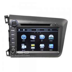 Buy cheap Car Honda Sat Nav DVD Player For Honda Civic Stereo GPS Navigation VHC8766 product