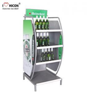 Buy cheap Customized Wine Display Stand Beverage Beer Display Rack Pop Merchandise Displays from wholesalers