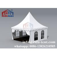 China Aluminum Frame Pagoda Party Tent With Transparent Pvc Cover 6x6 10x10 on sale
