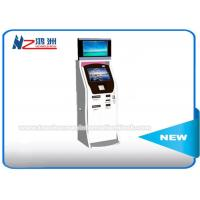 Buy cheap Cash Acceptor Moving Self Service Ticket Vending Machines With Thermal Printer product