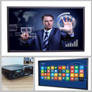 Precio barato monitor de la pantalla táctil de 70 pulgadas para la educación
