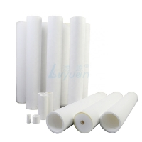Buy cheap High Polymer HDPE PE 60'' 100um Sintered Plastic Filter Element product