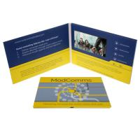 China CMYK Printing  LCD Promotional Video Card Electronic Printed Video Cards on sale