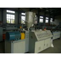 Buy cheap High Accuracy Pipe Corrugator Machine , Corrugated Pipe Line 4.5mm-63mm Dia product