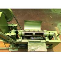 Buy cheap Galvanizing / PVC Wire Straightening And Cutting Machine With 4000 mm Width product