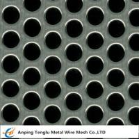 Buy cheap Perforated Mesh Sheet Round Hole Shape  0.5-5mm Thickness Customized Size product